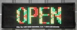 An LED sign is a great investment to supplement or reduce advertising expenses. An LED sign also lets you control your messages or advertising as you like without calling an advertising rep or consultant.